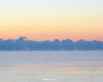 Sky at twilight 2017, fine art photography