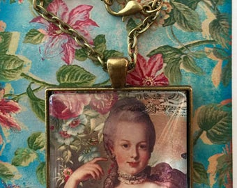 Let Them Eat Cake Pendant Necklace On Etsy Necklace Pendant Victorian On  ETSY Marie Antionette Pendant Original Design