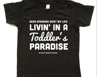 Kids Gift. TODDLER'S PARADISE Baby/Kids tee.