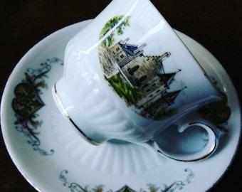 Tea Cup Dutch Castles