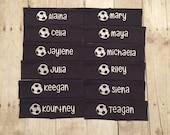 Soccer Headband, Soccer Spirit, Spirit Gift, Soccer Team, Team Spirit, Spirit Soccer, Soccer Gift, Custom Headband, Soccer Accessory, Soccer