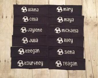 TEAM PRICE Soccer Headband, Soccer Spirit, Spirit Gift, Soccer Team, Team Spirit, Spirit Soccer, Soccer Gift, Custom Headband, Accessories
