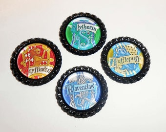 Harry Potter Magnets, Fridge Magnets, Harry Potter Office Magnets, School Magnets, Home Office, Harry Potter Gifts