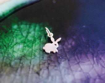 Bunny Charm - Rabbit Charm - Sterling Silver Bunny Charm - Sterling Silver Rabbit - Bunny - Animal Lover - Pet Lover - Bunny Rabbit - Rabbit