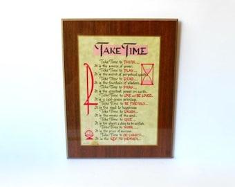 Take Time To Pray Etsy