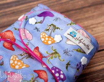 """AI2 Cloth Diaper- """"Fairy Garden"""""""