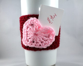 Heart Pocket Cozie