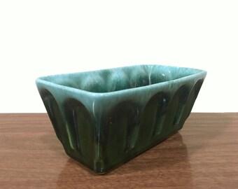 Vintage Hull Drip Glaze Planter