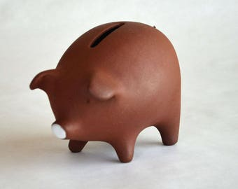 Edith Nielsen Piggy Bank Made in Denmark