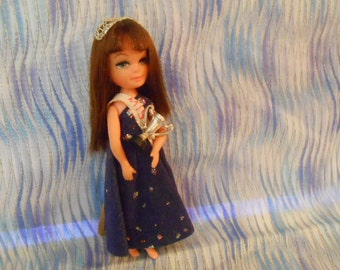 Uneeda Tiny Teen 1967 Doll-Prom Queen