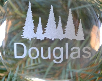 Glass Ornament, Holiday Ornament, Tree Ornament, Christmas Ornament, Custom Ornament, Holiday GIft