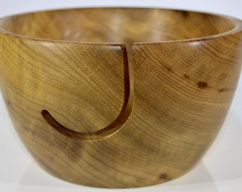 963 Yarn bowl, made from highly figured Myrtlewood