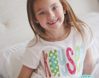 Big Sister Shirt-personalized name-colorful name-big sister-little sister-sibling name shirts- baby gift-newborn baby-photo prop-sibling set
