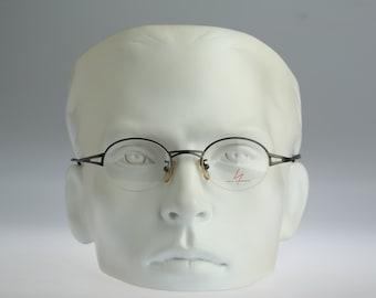 Yohji Yamamoto 51-7105 / Vintage round eyeglasses / NOS / 90S designer optical frame