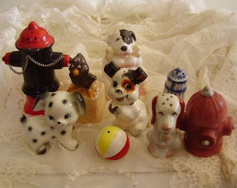 Vintage SALT & PEPPER Destash Lot