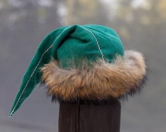 Viking Hat without Embroidery; Viking Hat; Santa Hat; Winter Hat; Warm Hat; Woolen Hat