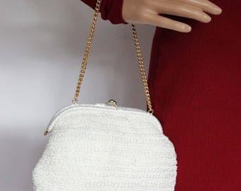 Vintage mesh handbag 1950s