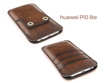 huawei P10 lite leather case - huawei P10 lite case - huawei P10 lite wallet case - huawei P10 lite leather cover