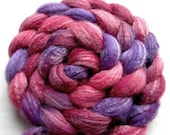 Merino/Silk/Bamboo Roving (Combed Top) 4 oz. Hand Painted