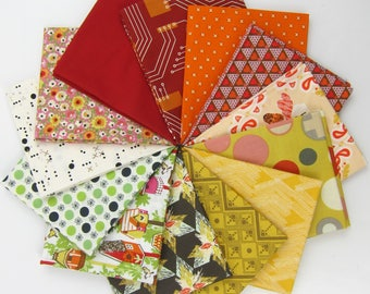 The Birds and the Bees Fat Quarter Bundle - 13 FQs - 3.75 Yards Total