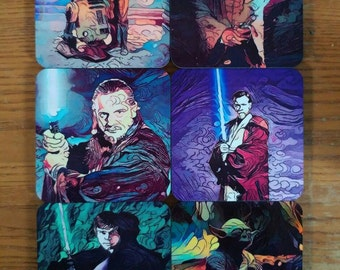 Star Wars Art Coaster Set