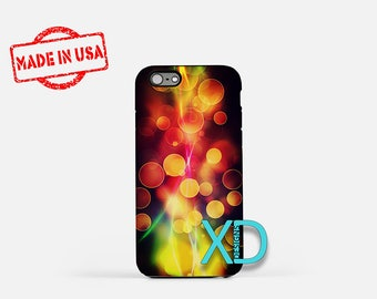 Rainbow Flame iPhone Case, Rainbow iPhone Case, Flame iPhone 8 Case, iPhone 6s Case, iPhone 7 Case, Phone Case, iPhone X Case, SE Case
