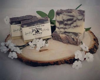 Hand Crafted LAVENDER Coconut Milk Soap