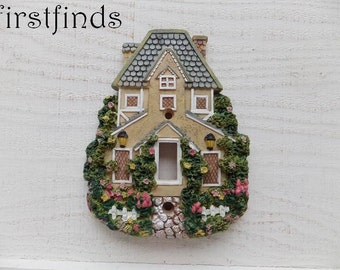 Light Switch Plate Cover Electrical Cottage House Green Vintage Resin Single Wall Kitchen Bedroom Farmhouse Toggle ITEM DETAILS BELOW