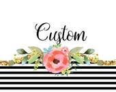 Custom Listing for Rebekah