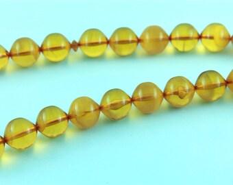 Honey color 33pcs Islamic Prayer Beads Misbaha Rosary Tesbih misbaha 401030