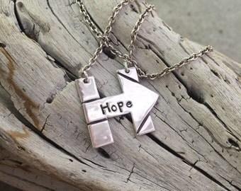 Hillary Clinton Hope Necklace