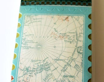 Shabby Chic Panorama Artisan Trading Cards From Making Memories