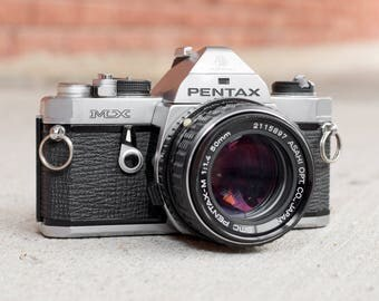 Pentax MX with 50mm f/1.4 Lens