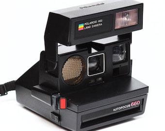 Polaroid autofocus 660 camera
