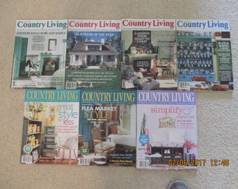 Vintage COUNTRY LIVING MAGAZINES