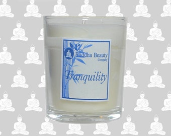 Tranquility - Bluebells Organic Votive Candle 9cl