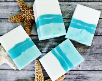 Hawaiian Coconut Soap - Glycerin Soap - Bar Soap - Vegan Soap - Coconut Soap - Handmade Soap - Coconut Soap