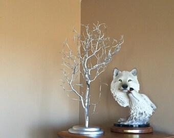 "27"" Silver Manzanita, Manzanita branch, Manzanita tree, Jewelry tree, Wedding centerpiece, Wishing Tree, Housewarming Gift, Home Décor"