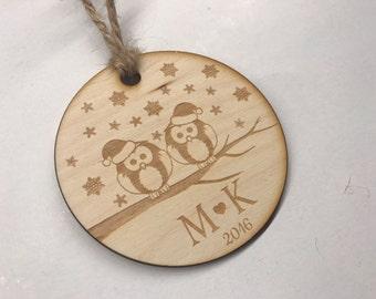 Personalized Christmas ornament - christmas tree decoration - christmas gift