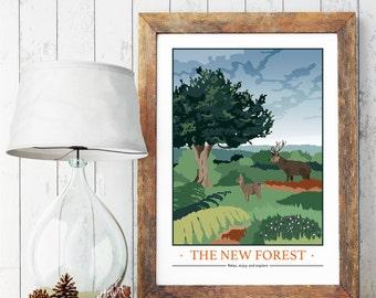 New Forest, Dorset / Hampshire Print