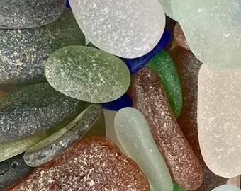 Bulk Sea Glass, Genuine, Beach Glass, Glass Beach Fort Bragg California, Beach Goddess Altar Shrine, Meditation Stones, Rocks, Beach Stones