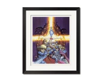 Hayao Miyazaki Nausicaa of the Valley of the Wind Poster Print 0757
