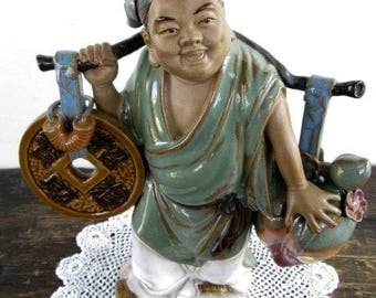 SALE Shiwan Artistic Factory Chinese Mud Man Figurine
