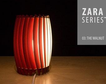 ZARA Basic Series™ 03: The Walnut  - Desktop Lamp