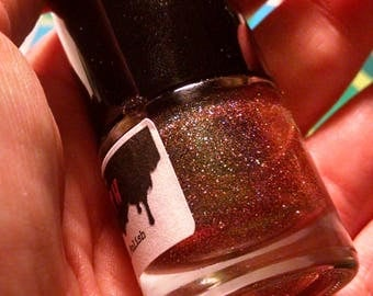 Hellmouth - Glitter Topcoat Slayer Chic Nail Polish
