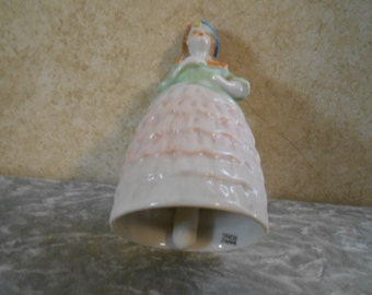 1940's Porcelain Figurine Collector's Bell