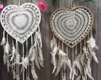 Heartshape dreamcatchers