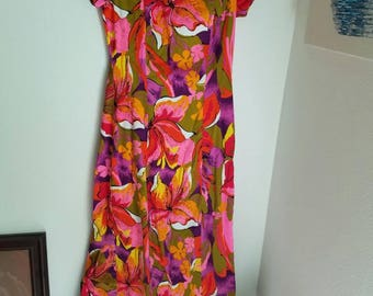 Hawaiian Maxi Dress