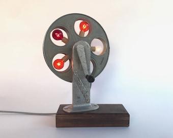 Film Reel Lamp