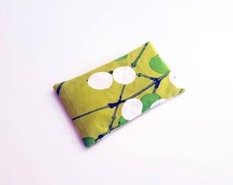 "Savasana Pillow - Yoga Pillow - Yoga Eye Pillow - Relaxation Pillow - Meditation Pillow - Buckwheat Pillow - Marimekko Eye Pillow - 7.5 X 4"""